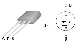 FQI33N10, 100V N-Channel MOSFET